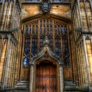 Bodleian Library Door by Yhun Suarez