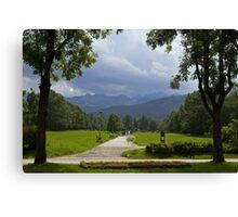 Zakopane Landscape Canvas Print