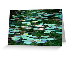 Trout Pond II Greeting Card