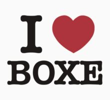 I Love BOXE by candacing
