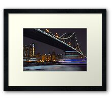 New York Minute  Framed Print