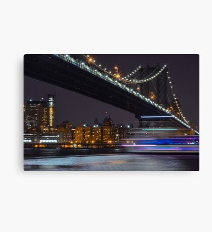 New York Minute  Canvas Print