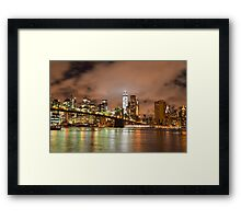 Cloudy Nights  Framed Print