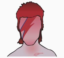 David Bowie Aladdin Sane T-Shirt by retrorebirth