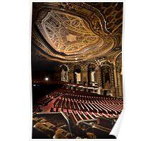 Loews' Kings Theatre- ceiling detail Poster