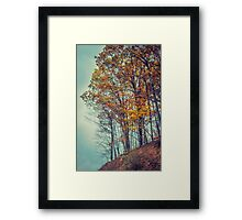 Above the Clouds in Appalachia Framed Print