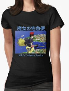 Kiki's Delivery Service - Kiki & Jiji - (Designs4You) Womens Fitted T-Shirt