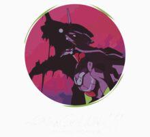 EVA 01 - Evangelion T-shirt / Poster / Phone case / Mug One Piece - Short Sleeve