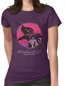 EVA 01 - Evangelion T-shirt / Poster / Phone case / Mug Womens Fitted T-Shirt