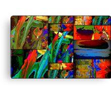 Deep Sea Quilt Canvas Print