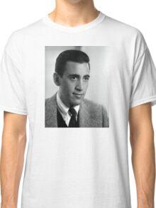 J.D. Salinger Black and White Portrait Classic T-Shirt