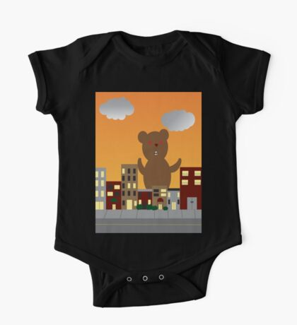 Monster Bear Kids Clothes