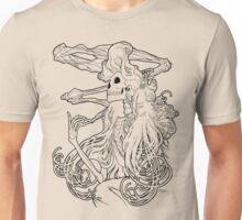 Mucha Nouveau Lines Unisex T-Shirt