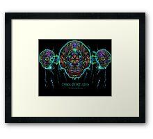 Alien Beeing Framed Print