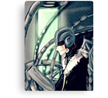 Masked Man Canvas Print