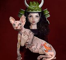sphynx girl by alicia1982
