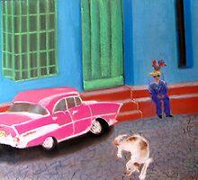 street life in Trinidad, Cuba by Elena Malec