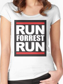 Run forrest Women's Fitted Scoop T-Shirt