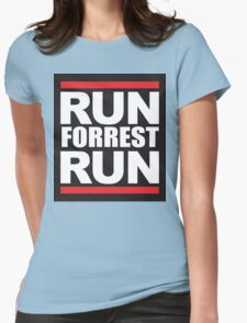 Run forrest Womens Fitted T-Shirt