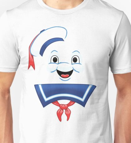 Mr. Marshmallow Destruction (Happy Version) Unisex T-Shirt