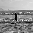 January Surf at Crescent Beach by Bryan D. Spellman