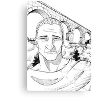 The Roman Aqueduct Canvas Print