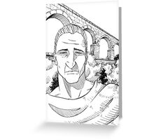 The Roman Aqueduct Greeting Card