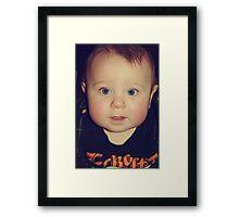 Chubby Cheeks Framed Print