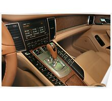 PORSCHE PANAMERA TURBO - COMMAND CENTER !! Poster
