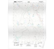 USGS Topo Map Oregon Brady Butte 20110816 TM Poster