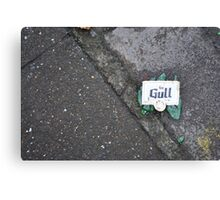 Broken Gull Canvas Print