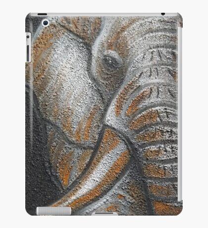 Orange Elephant Canvas Art iPad Case/Skin