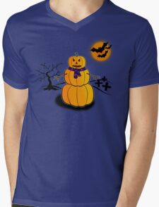 The Pumpkin Man Mens V-Neck T-Shirt