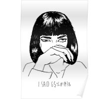 Mia Wallace Poster