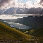 Evening over Wastwater by Stuart  Gennery