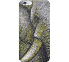 Yellow Elephant Canvas Print iPhone Case/Skin