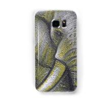 Yellow Elephant Canvas Print Samsung Galaxy Case/Skin