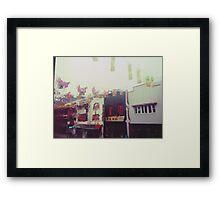 Rain-washed Scenery #10 Framed Print