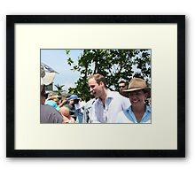 Prince William and Anna Bligh came to Cardwell, North Queensland, Australia Framed Print