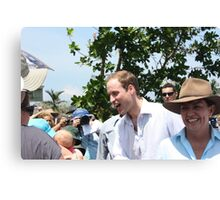 Prince William and Anna Bligh came to Cardwell, North Queensland, Australia Canvas Print