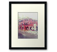 Rain-washed Scenery #11 Framed Print