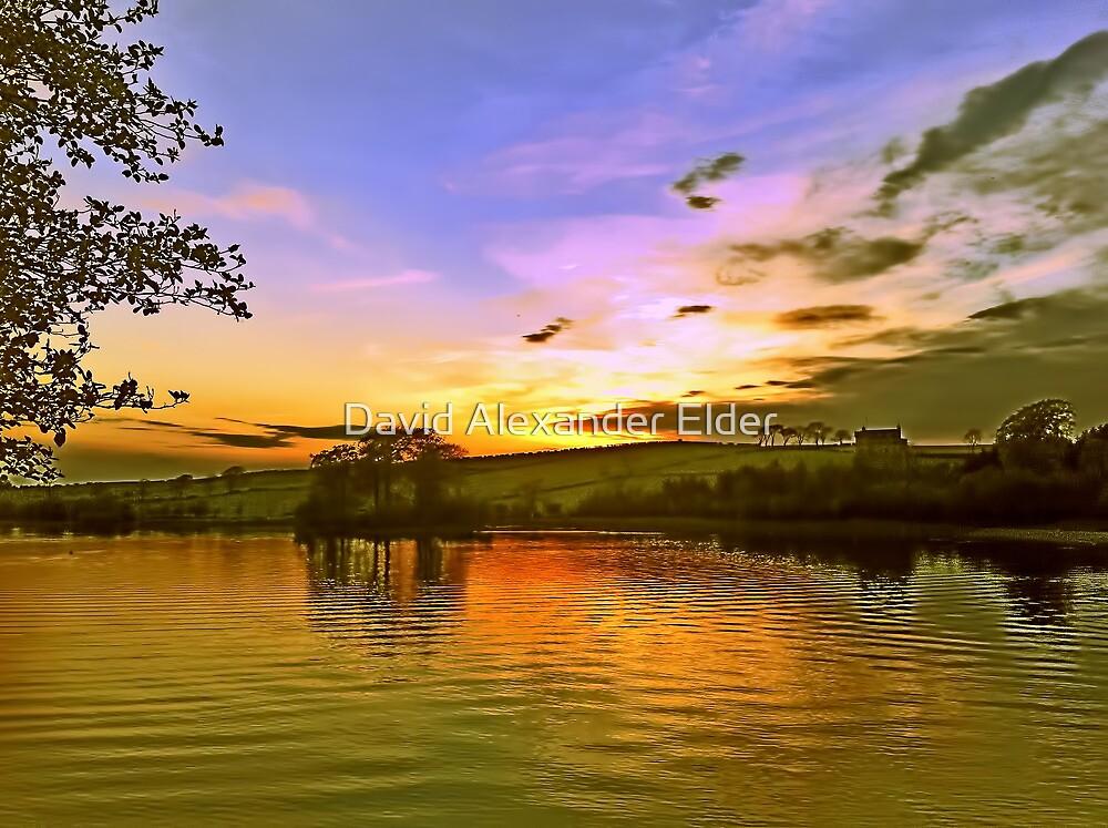 Lochy Sunset by David Alexander Elder