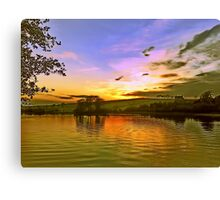 Lochy Sunset Canvas Print