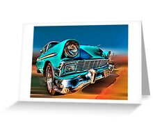 Chevy Frontend Greeting Card