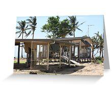 Tully Heads Cyclone Yasi - North Queensland, Australia Greeting Card