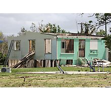 devastation of loosing ones home cyclone yasi - Tully/Hull Heads, North Queensland, Australia Photographic Print