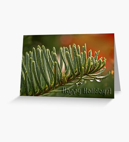 O Tannenbaum - card 1 Greeting Card