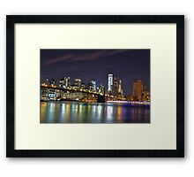 Lights Will Guide You Home  Framed Print