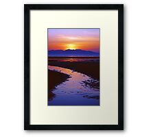 Island Night Framed Print