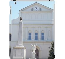 St. Louis Cathedral Back Lawn iPad Case/Skin